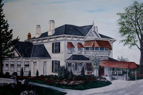 Barber House : Painting - Picture of Old Barber House, Mississauga - TripAdvisor
