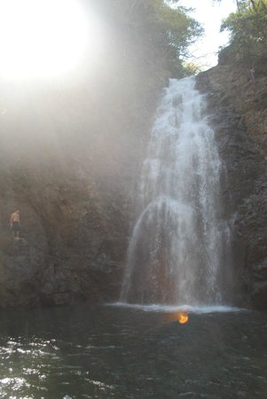 Playa Cielo: Montezuma waterfall