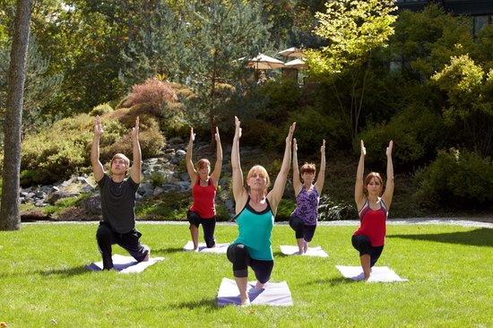 The Lodge at Woodloch: Yoga
