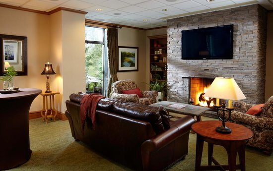 The Lodge at Woodloch: Garden View Room