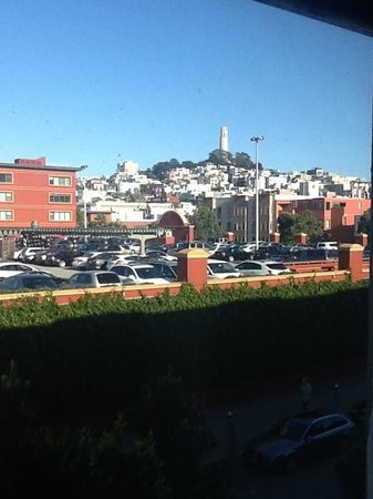 BEST WESTERN PLUS Tuscan Inn at Fisherman's Wharf: view from the room.