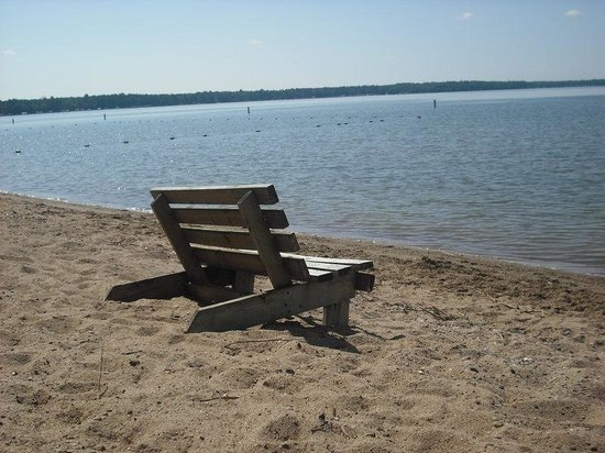 Lake Bemidji State Park Beach