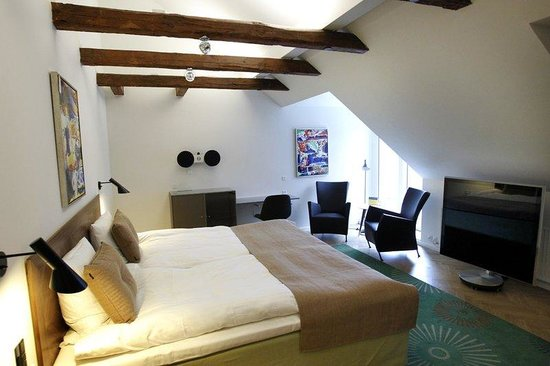 Herning, Dinamarca: Double Bed Superior Room