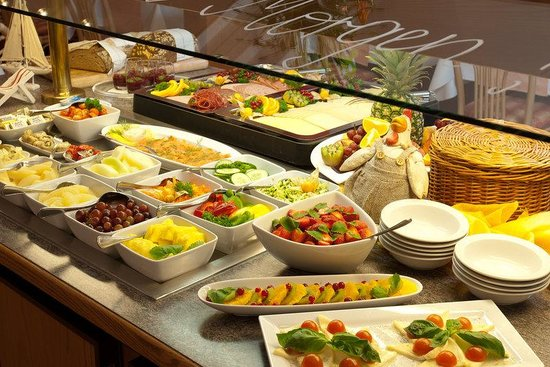 BEST WESTERN Hotel Domicil: Breakfast Buffet