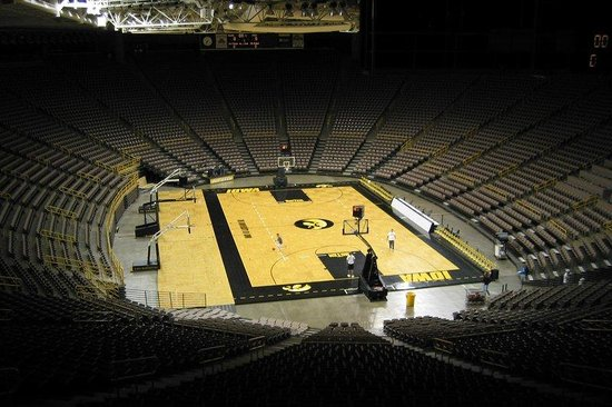 Coralville, Айова: University of Iowa Hawkeyes - Carver Hawkeye Arena