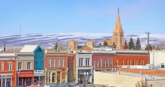 Historic Downtown Laramie Wyoming, Photo By COURTN