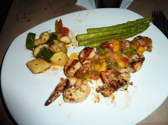 Evansville, IN: Shrimp & Scallop