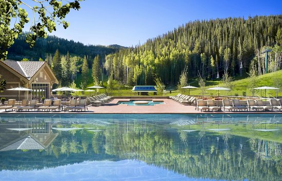Montage Deer Valley Alpine Pool
