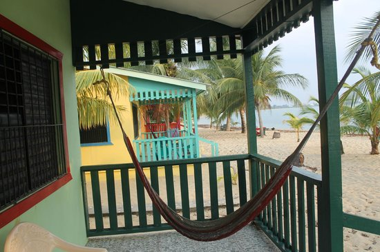 Tradewinds Hotel: View from the porch
