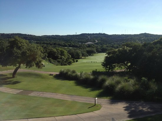 Barton Creek Resort & Spa: View from hotel