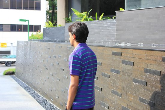 PARKROYAL on Kitchener Road: hotel's outside wall