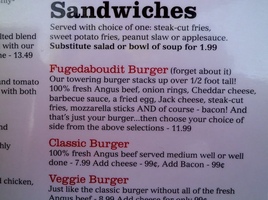 Muncie, IN: Wonderful burgers