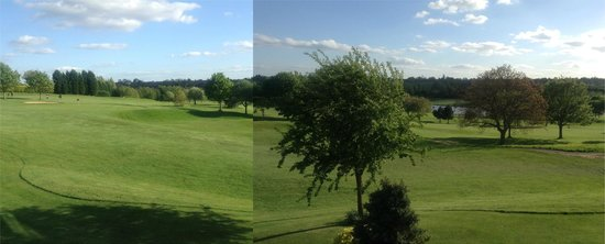 Coventry, UK: View of golf course