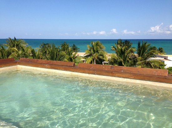 Rosewood Mayakoba: views from plunge pool