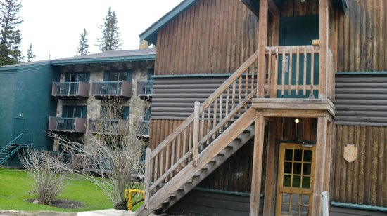 Deer Lodge: Vista de las habitaciones