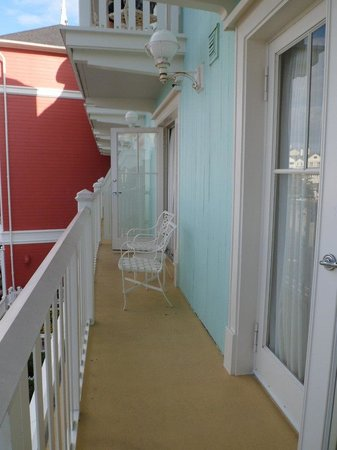 Disney's BoardWalk Villas: huge balcony