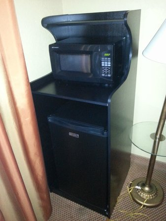 Country Inn & Suites Hot Springs: fridge/microwave afterthought