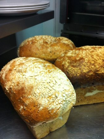 Taunton, UK: Homemade Bread