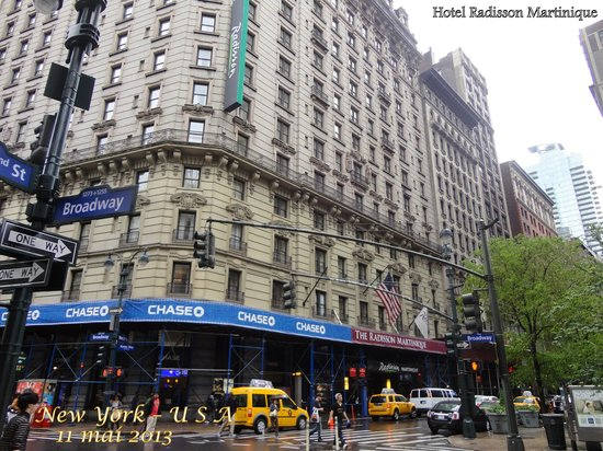 Radisson Martinique on Broadway : Hotel em Manhattan