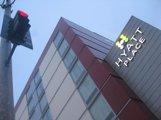 Hyatt Place Seattle/Downtown: Hotel facade