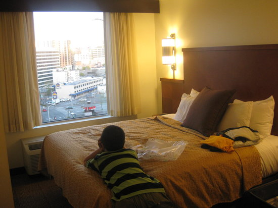 Hyatt Place Seattle/Downtown: Never got tired of looking at the view