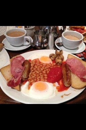 Amazing breakfast menu served all day every day picture for Cafe jardin scarborough