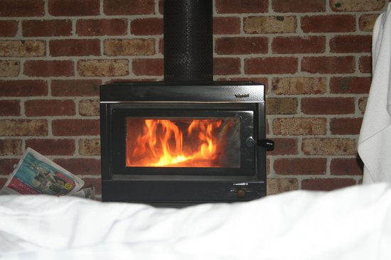 Blackheath, Australia: Fireplace