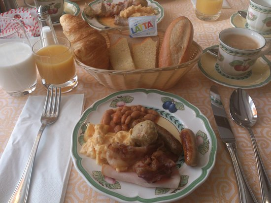 Hotel Continental Zurich - MGallery Collection: Nice breakfast served