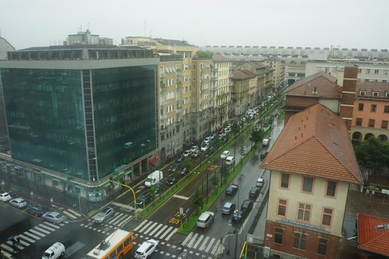 Crowne Plaza Hotel Milan City: View from room