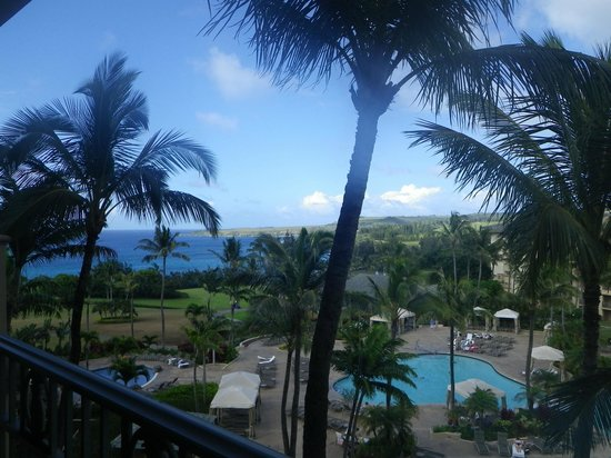 The Ritz-Carlton, Kapalua: amazing view with balcony