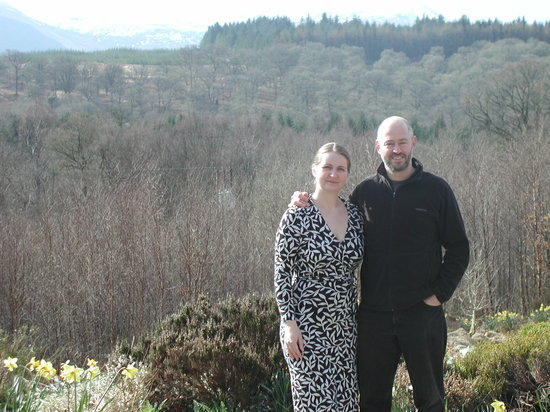 Spean Bridge, UK: Your hosts, Teresa & Philippe