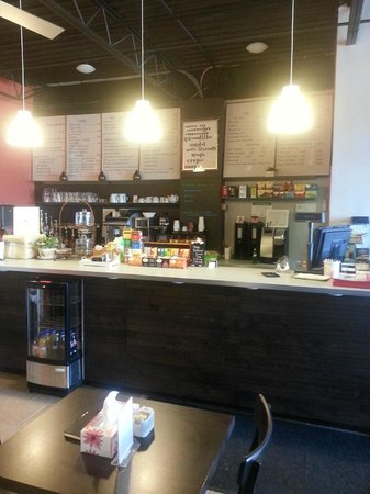 Georgetown, Canada: The coffee bar