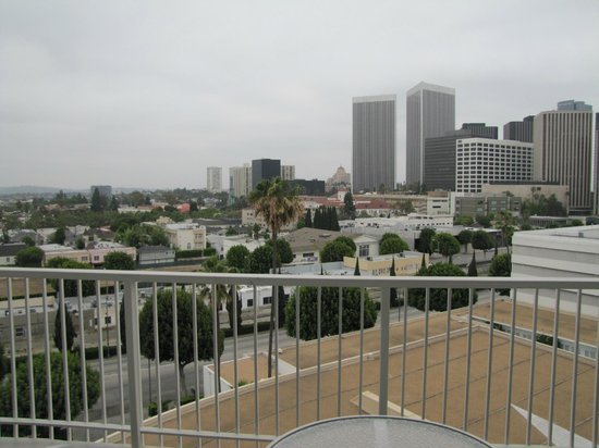 The Beverly Hilton: View from room balcony