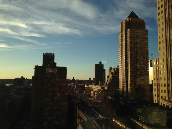 Hilton Garden Inn Times Square: Check out the view