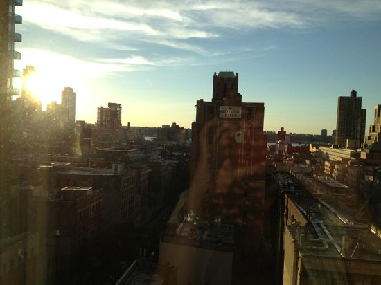 Hilton Garden Inn Times Square: Gorgeous sunset