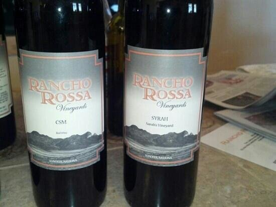 Elgin, AZ: Rancho Rossa's newest releases