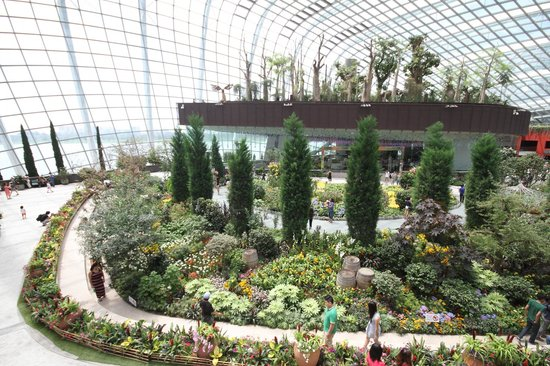 Flower Dome Picture Of Gardens By The Bay Singapore Tripadvisor