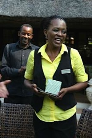 Sandton Boutique Hotel - 28A on Oxford: Friendly staff
