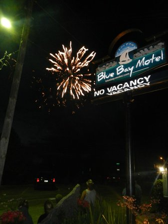 Blue Bay Motel: Canada Day fireworks
