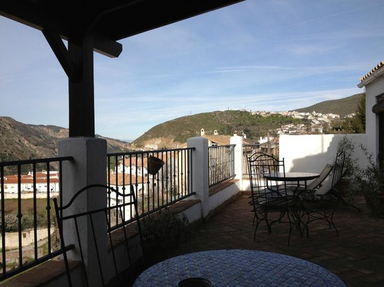 Guejar Sierra, Spanje: Beautiful view from the terrace
