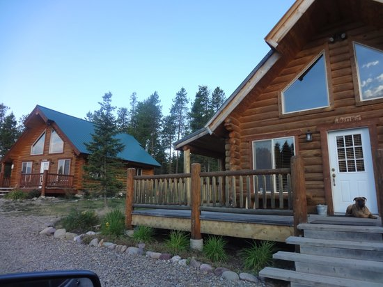 The Great Bear Inn: cabins on property