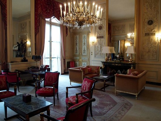 Hotel Ritz Paris: Suite living room