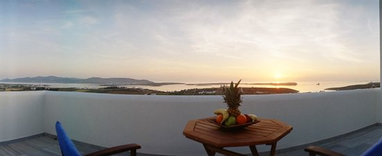Anna Platanou Hotel: Anna Platanou Apartments Panoramic Sea view to Antiparos island