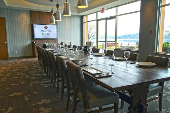 Manteo Resort - Waterfront Hotel & Villas: The View Room - Private Dining & Meeting Room in Smack DAB
