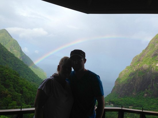 Ladera Resort: Lots of rainbows!