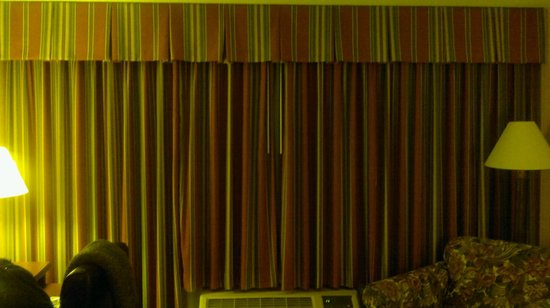 Ramada Plaza Hartford Hotel: Beautiful drapes!