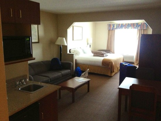 Holiday Inn Express Hotel & Suites Hill City: King suite