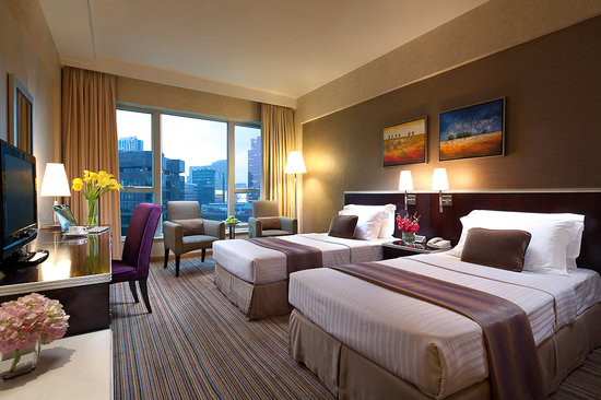 Park Hotel Hong Kong: Deluxe Twin Room