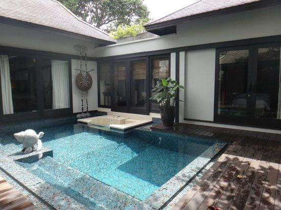 Anantara Phuket Villas: our private pool