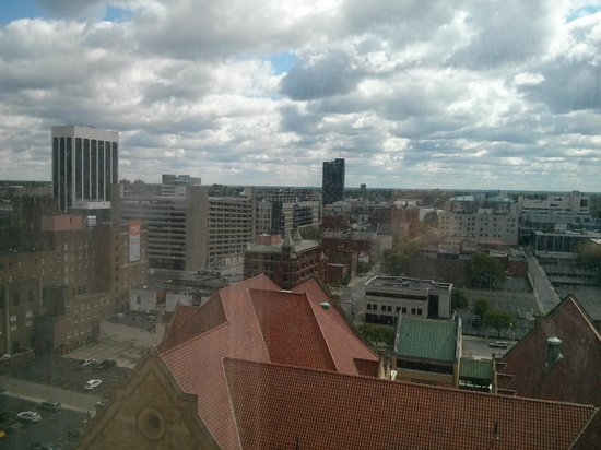 Sheraton Columbus at Capitol Square Hotel: view from room
